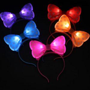 ışıklı mickey mouse taç