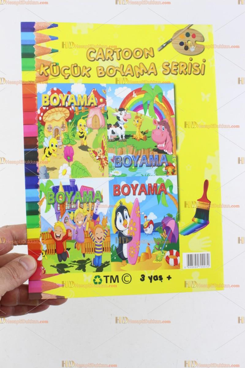 Toptan Boyama Kitabı Kolay Istoç Hediyelik Ana Okulu Ucuz