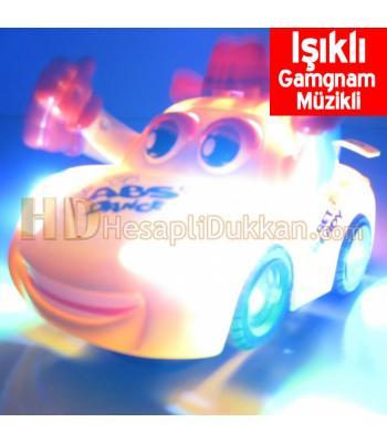 Gamgam müzikli ışıklı oyuncak araba