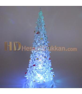 Işıklı yılbaşı ağacı hediyelik eşya