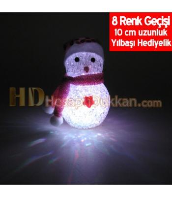 Renk değiştiren mini kardan adam