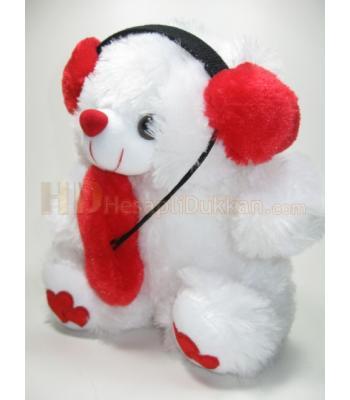 Öpücüklü peluş sevgiliye hediye kırmızı