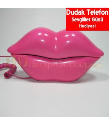Dudak şeklinde telefon sevgililer günü hediyeliği