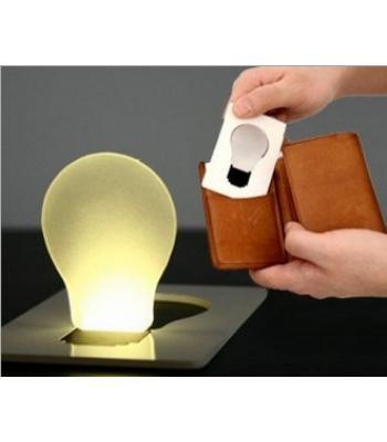 Ampül şeklinde promosyon ürünü cep lambası