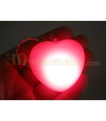 Kalp anahtarlık sevgililer günü promosyonu