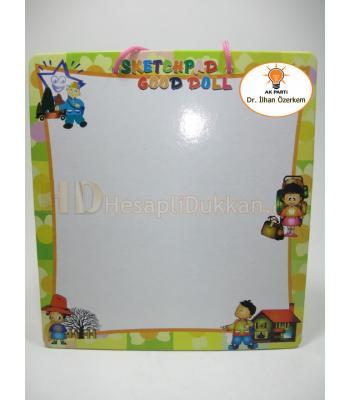 Promosyon oyuncak silinebilir kalemli yazı tahtası