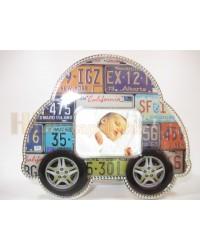 Bebek magnetleri buzdolabı süsü resim çerçeveleri taksi