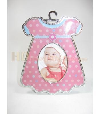 Bebek magnet çeşitleri pembe elbise