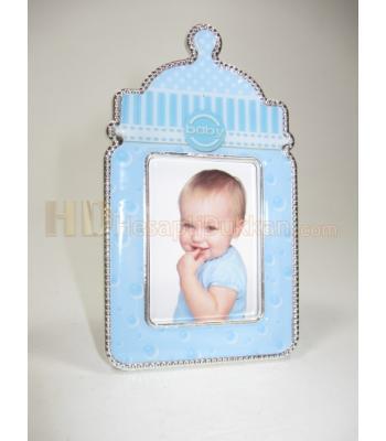 Bebek magnet çerçeve biberon şeklinde
