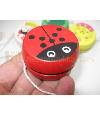 Promosyon yoyo ahşap oyuncak