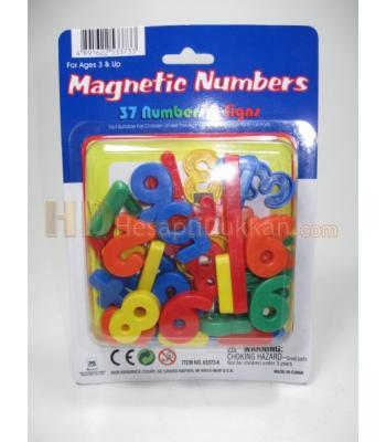Magnet rakamlar buzdolabı sayıları