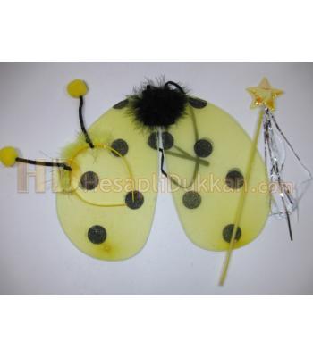 Arı kanadı set taç çubuk toptan ucuz