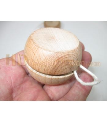 Ahşap promosyon yoyo imalatı 5 cm