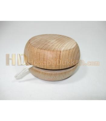 Promosyon ahşap yoyo imalatı 7 cm