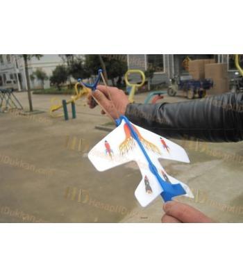 Sapanlı ışıklı uçak yeni model oyuncak