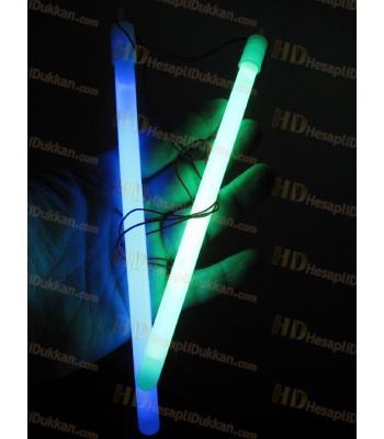 Glow kolye ışıklı çubuk 20 cm