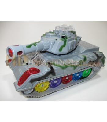 Havada dönen tank ışıklı oyuncak