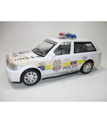 Dört sirenli polis arabası ışıklı oyuncak
