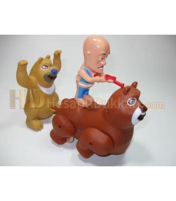 Avcı ile ayısı müzikli oyuncak