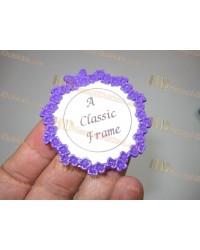 Mini magnet resim çerçeveleri çiçekli