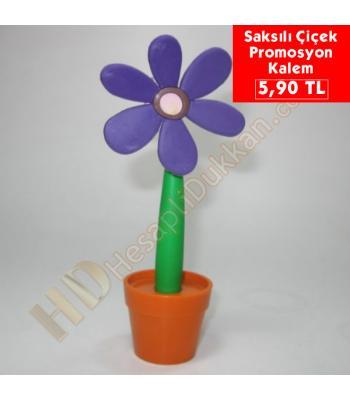 İlginç promosyon ürünü saksılı çiçek kalem