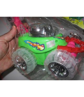 Sopalı ışıklı akrobat araba oyuncak