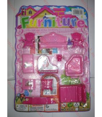 Toptan oyuncak mobilya seti büyük