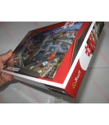 Toptan lisanslı disney puzzle 168 parça