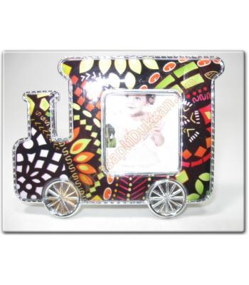 Magnet bebek buzdolabı resim çerçevesi Tren