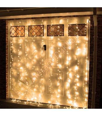 2 x 3 Akar perde 640 led yılbaşı ışık gün ışığı