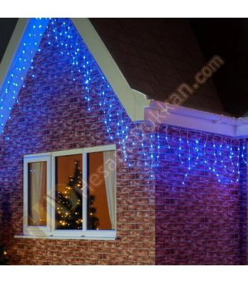 Saçak yılbaşı ışığı 70 x 1,5 mavi