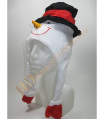Kardan adamlı yılbaşı şapkası