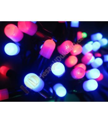Hap yılbaşı ışıkları karışık renk yeşil kablo