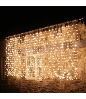 2 x 2 perde yılbaşı ışık 600 led eklemeli dış mekan gün ışığı