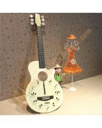 Gitar duvar saati sevgiliye hediyelik eşya