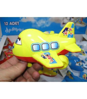Toptan oyuncak uçak çek bırak müzikli ışıklı