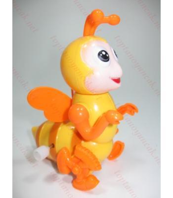 Toptan oyuncak sevimli koşan arı kurmalı