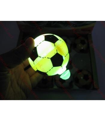 Top şeklinde ışıklı topaç toptan sürtmeli