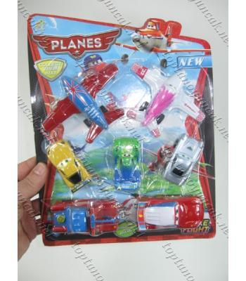 Toptan oyuncak uçaklı araba seti