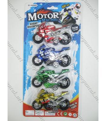 Dörtlü motosiklet seti oyuncak toptan