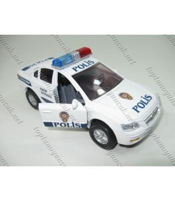 Metal polis arabası sirenli çek bıraklı