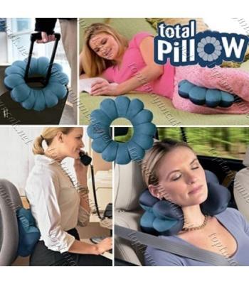 Toptan Mikro Boncuklu Yumuşak Yastık Simit Total Pillow