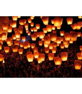 Dilek balonu dilek feneri