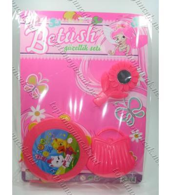 Tefli çantalı aynalı oyuncak set TOY1444