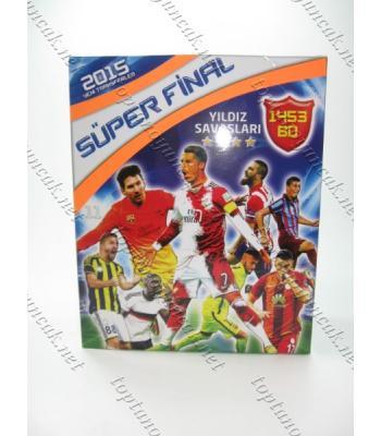 Süper final futbol kartları toptan