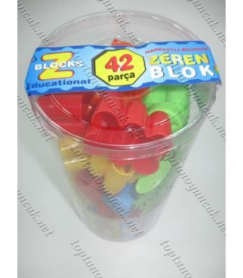 Toptan blok lego ucuz yerli 42 li