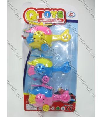 Toptan oyuncak 3 lü helikopter set TOY1420