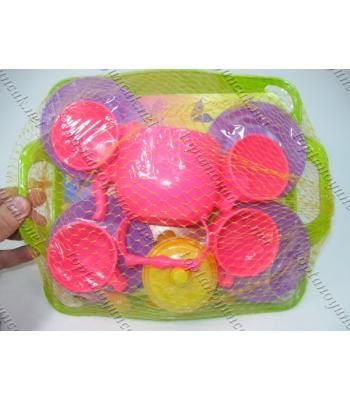 Toptan kız oyuncakları tencere seti TOY1418