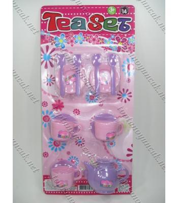Toptan oyuncak plastik çay seti TOY1426