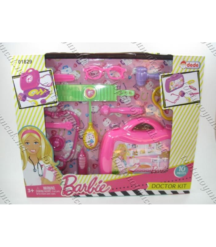 Barbie oyuncak toptan doktor seti kutulu